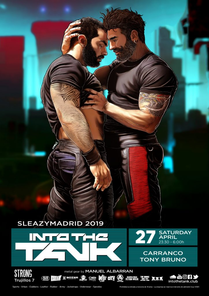 Into The Tank 84 - Saturday 27 April SleazyMadrid 2019 strong_A3
