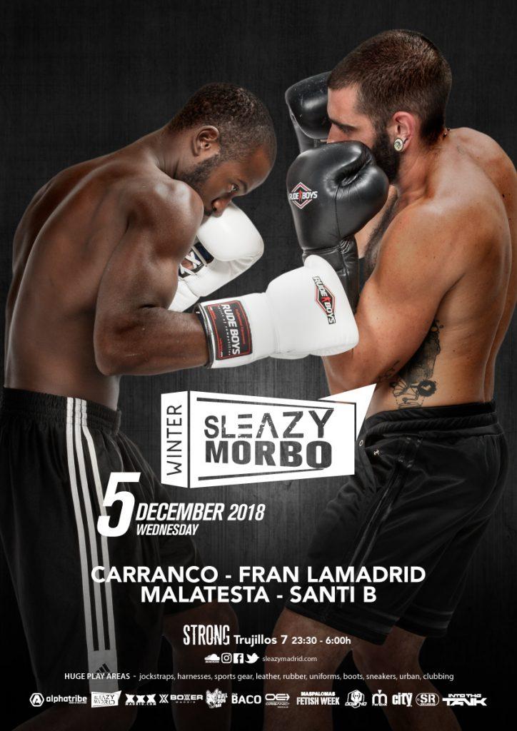 SLEAZYMORBO SleazyMadrid Winter 2018_A3