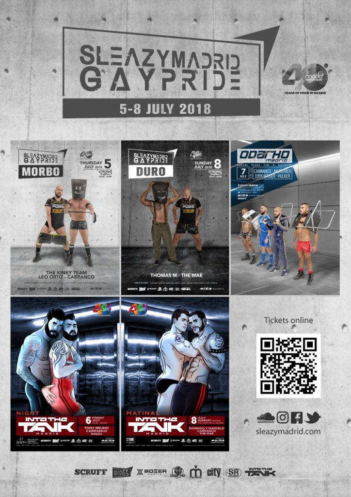 sleazymadrid GayPride 2018